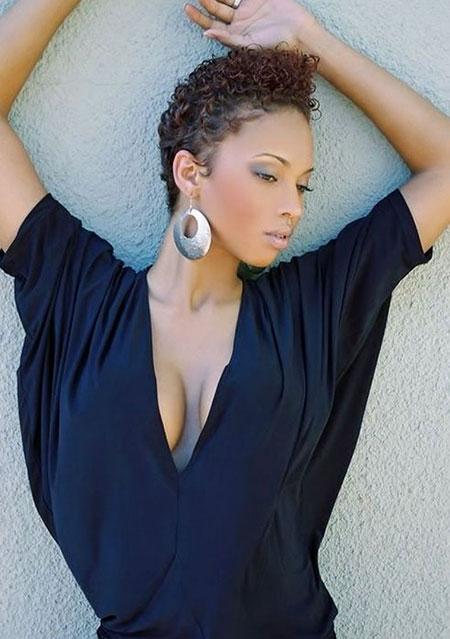 Short Curly Hairstyles Black Women - 12-