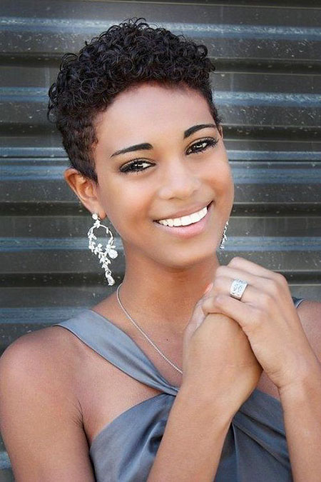 Short Hairstyles for Black Women - 13