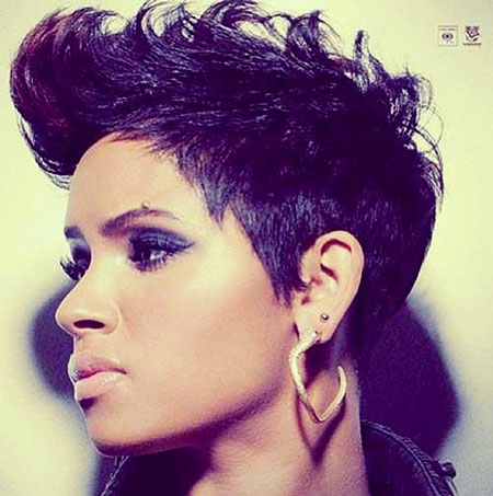 Short Hairstyles for Black Women - 13-