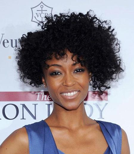 Short Curly Hairstyles Black Women - 14-