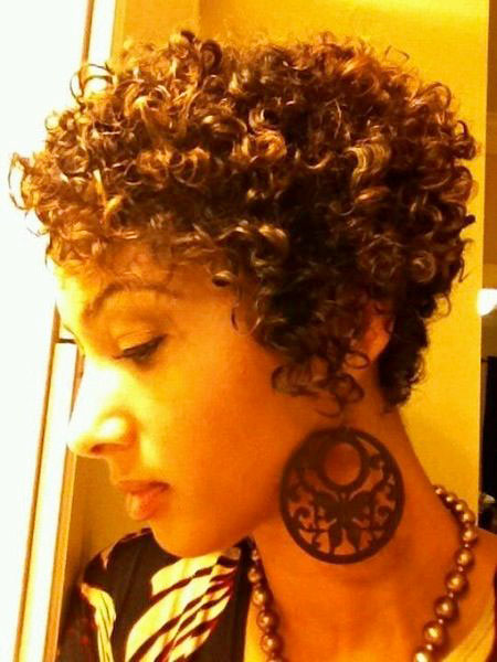 Short Hairstyles for Black Women - 15-