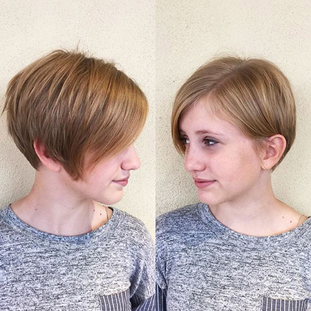 2016 Short Hair with Bangs - 16-