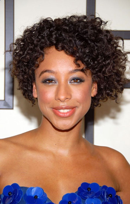 Short Curly Hairstyles Black Women - 16-