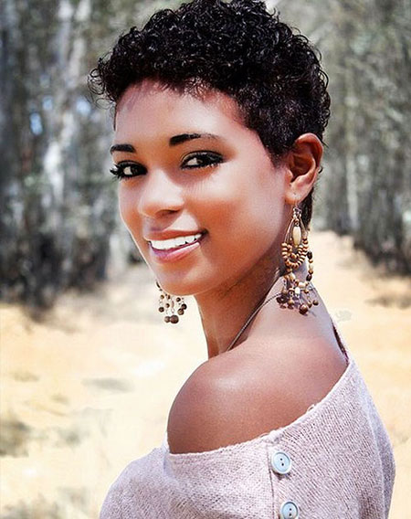 Short Hairstyles for Black Women - 16