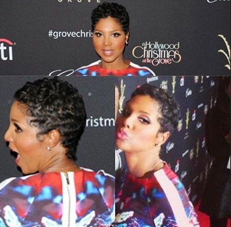 Short Hairstyles for Black Women - 16-