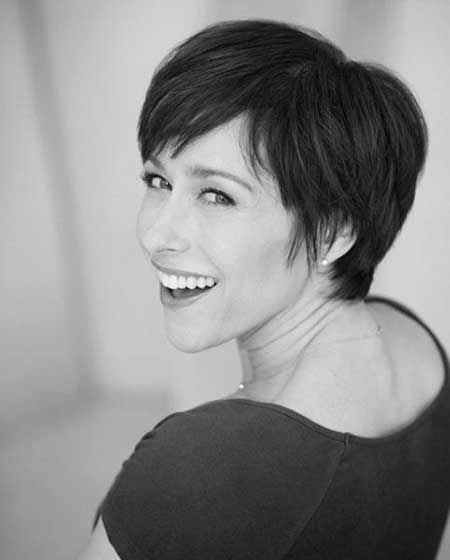2016 Short Hair with Bangs - 17-