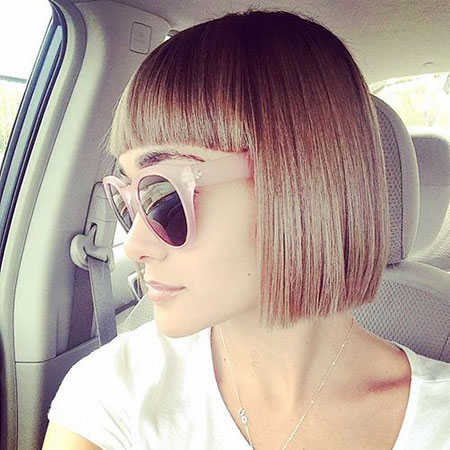 Best 2016 Short Hair with Bangs - 17