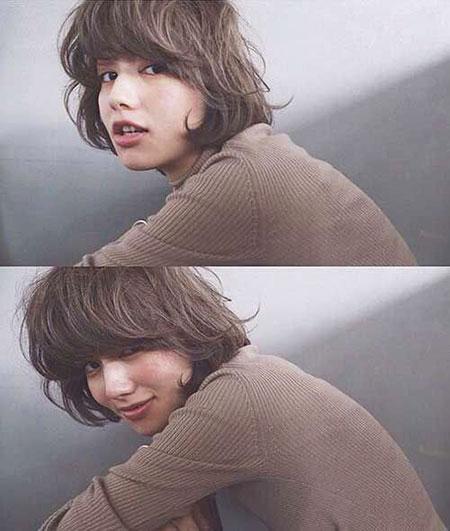 Short Curly Hair - 17