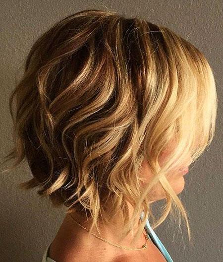 Short Curly Hair - 17-