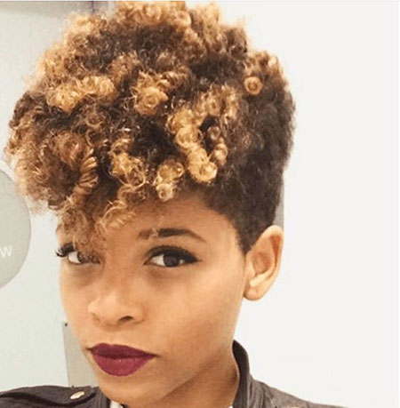 Short Hairstyles for Black Women - 17