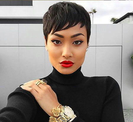 40+ Latest Short Hairstyles for Black Women Short