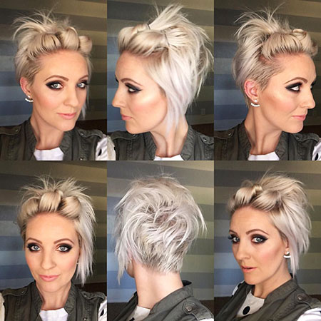 2016 Short Hair with Bangs - 19-