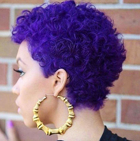 Short Curly Hairstyles Black Women - 19-