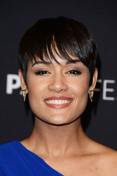 Short Hairstyles for Black Women - 19-