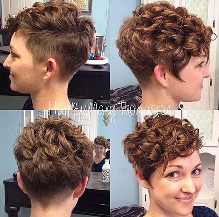 2016 Short Hairstyles with Bangs - 20