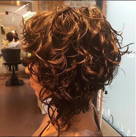 Short 2016 Curly Hair - 20-