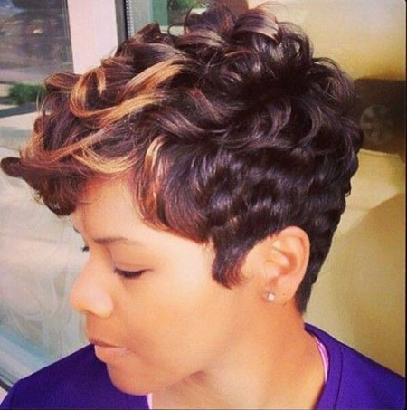 Short Curly Hairstyles Black Women - 20-
