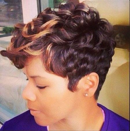 Short Curly Hairstyles Black Women - 20-
