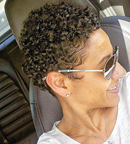 Short Haircuts for Black Women - 20-