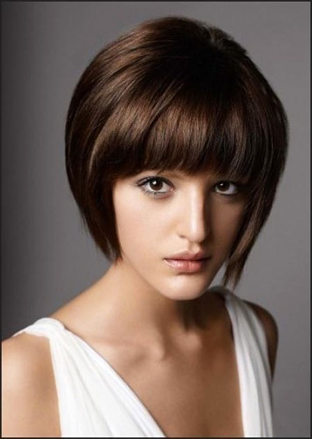 Best 2016 Short Hair with Bangs - 21