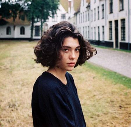 Short Curly Hair - 21-
