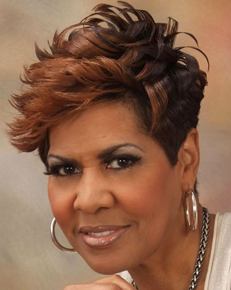 Short Hairstyles for Black Women - 21-