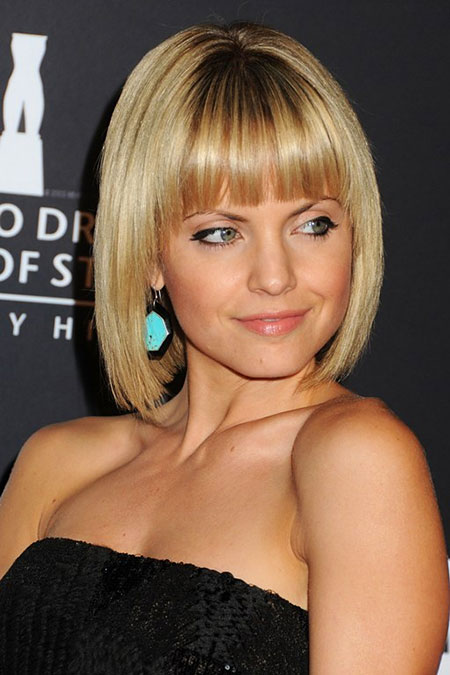 Best 2016 Short Hair with Bangs - 22