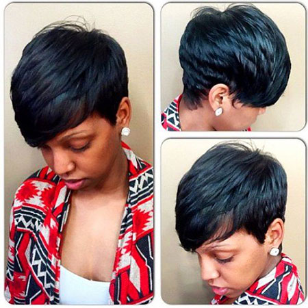Short Hairstyles for Black Women - 22-