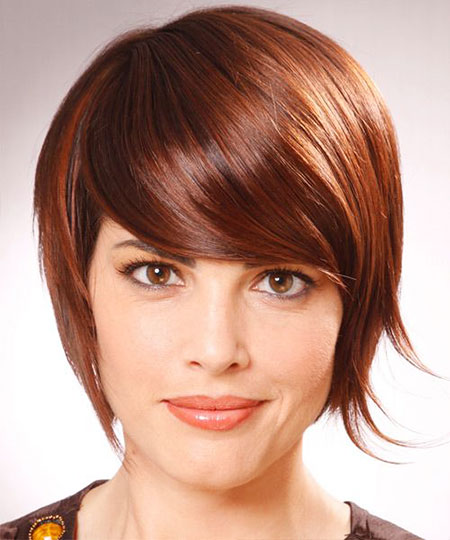 Short Hairstyles for Curly Hair - 22