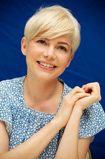 25 New Cute Short Haircuts For Round Faces Short
