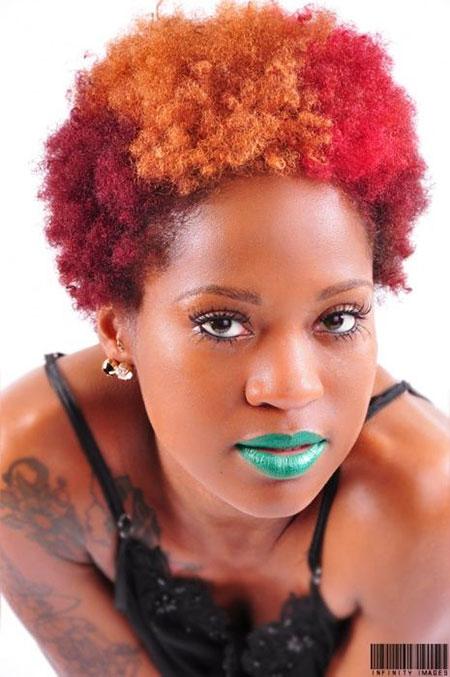 Short Hairstyles for Black Women - 23-