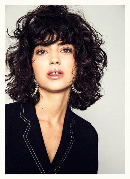 Short Curly Hair - 24-