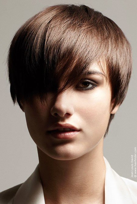 Bangs Styles For Short Haired Women Short Hairstyles