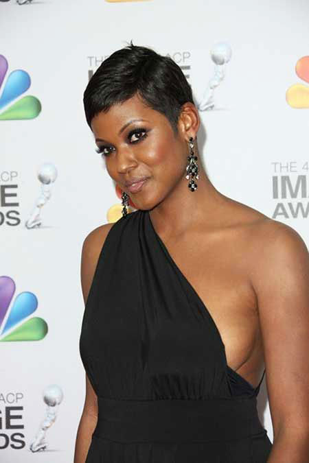Short Hairstyles for Black Women - 24-
