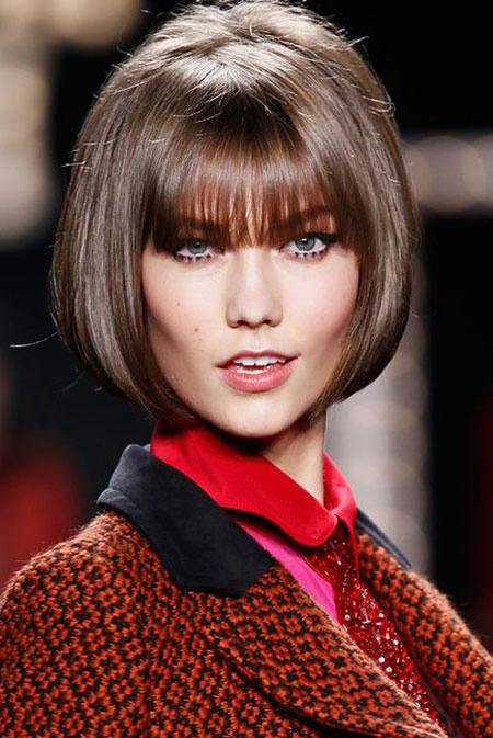 25+ Nice Short Straight Hairstyles with Bangs | Short