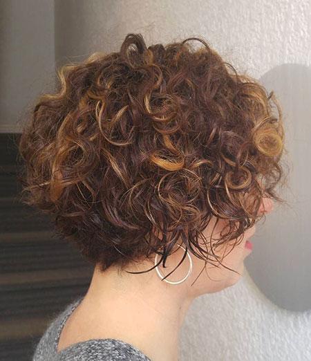 Short 2016 Curly Hair - 25-