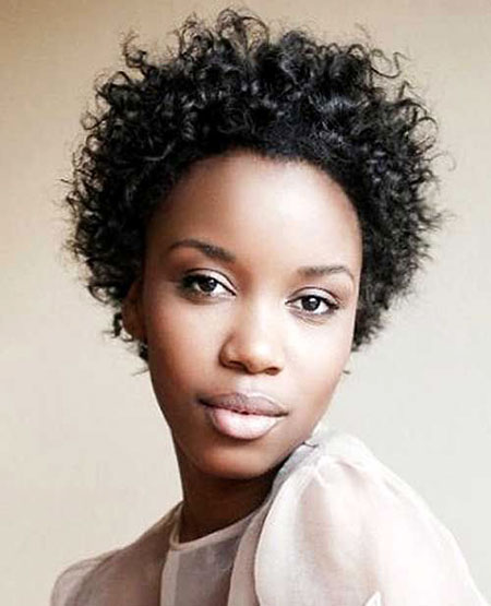 Short Curly Hairstyles Black Women - 25-