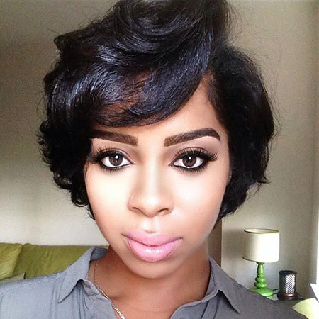 Short Haircuts for Black Women - 25-
