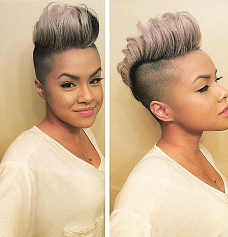 Short Hairstyles for Black Women - 25-