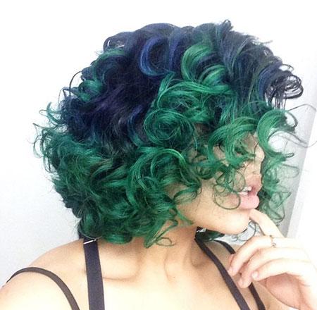 Short Curly Hair - 26-