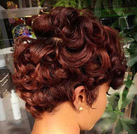 Short Curly Hairstyles Black Women - 26-