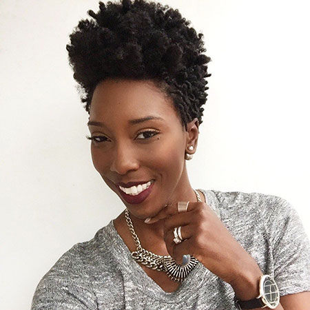 Short Haircuts for Black Women - 26-