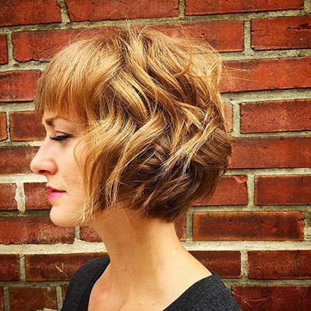 2016 Short Hair with Bangs - 27-