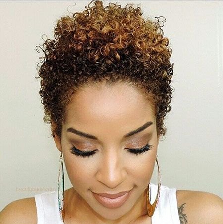 Short Curly Hairstyles Black Women - 27-