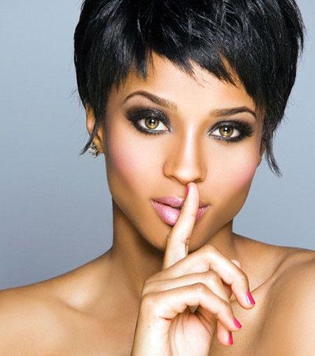 Short Hairstyles for Black Women - 27-