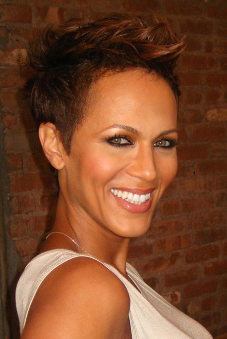 Short Hairstyles for Black Women - 27-