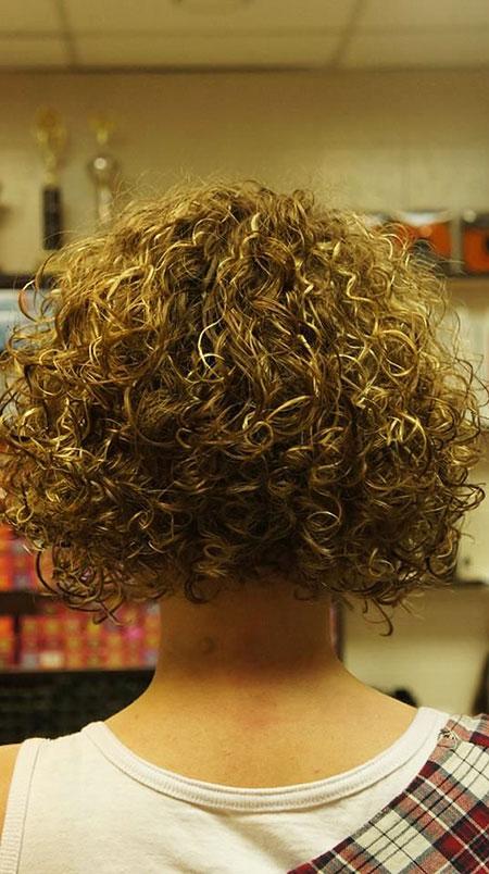 Short Curly Hair - 28-