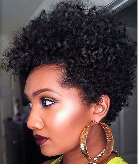 Short Hairstyles for Black Women - 28