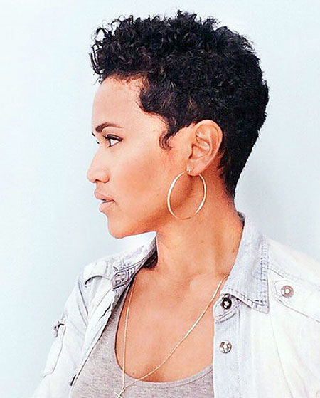 Short Hairstyles for Black Women - 28-