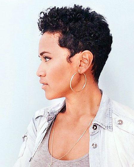 Short Hairstyles for Black Women - 28-